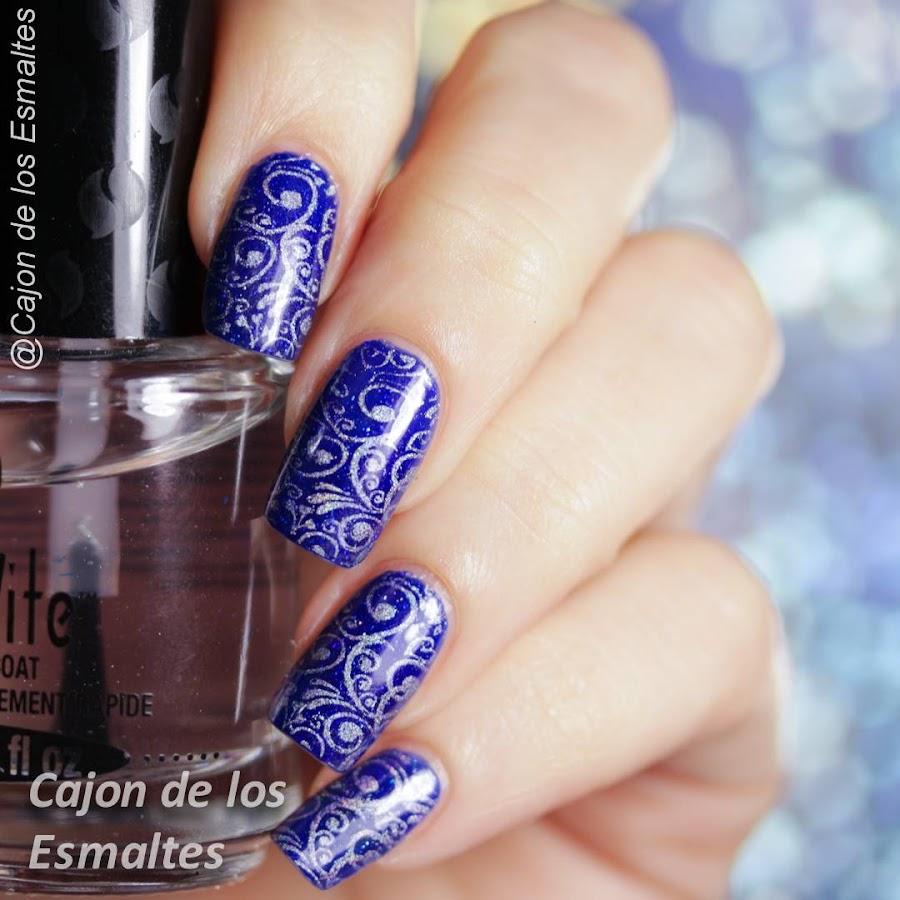 Diseños de uñas - Placa de encaje BC-04