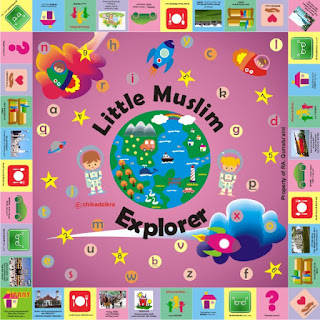 Little Muslim Explorer Play Mat