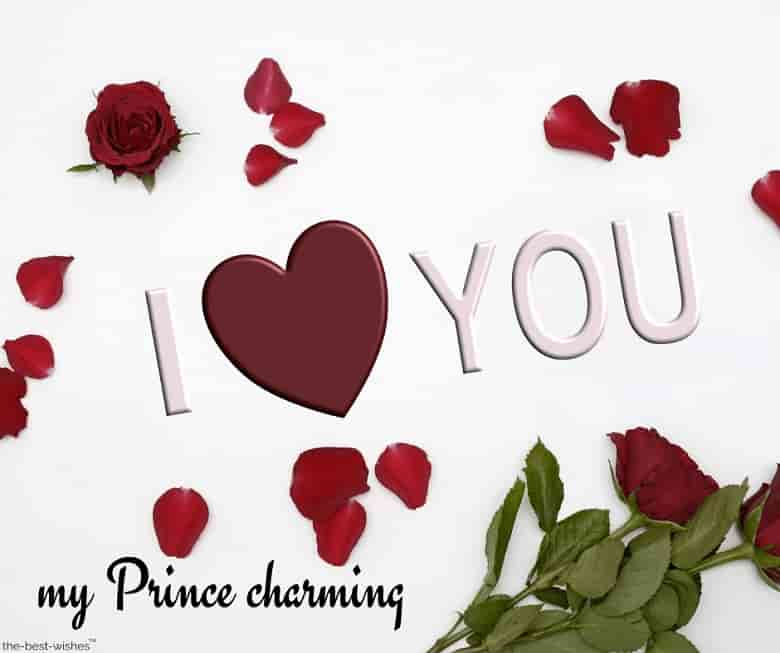 i love you my prince charming