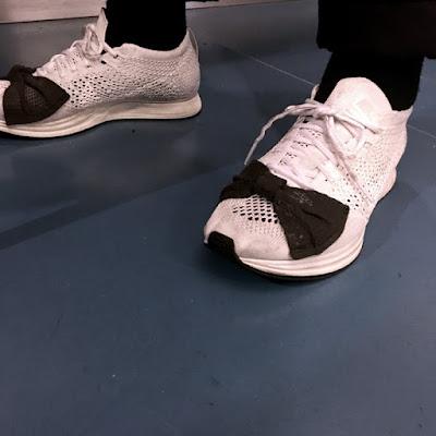 Comme des Garçons x Nike Flyknit Triple Racer