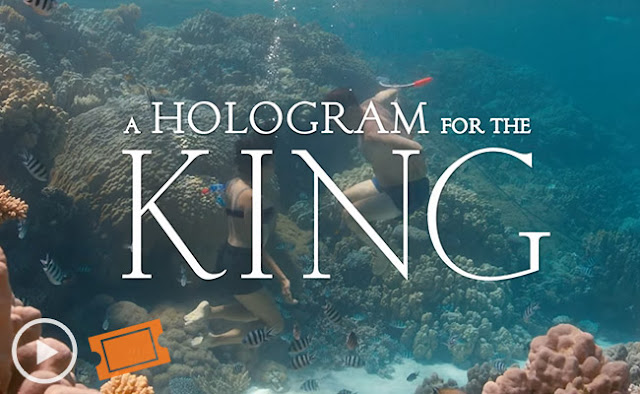 A hologram for the king movie kiss swimming