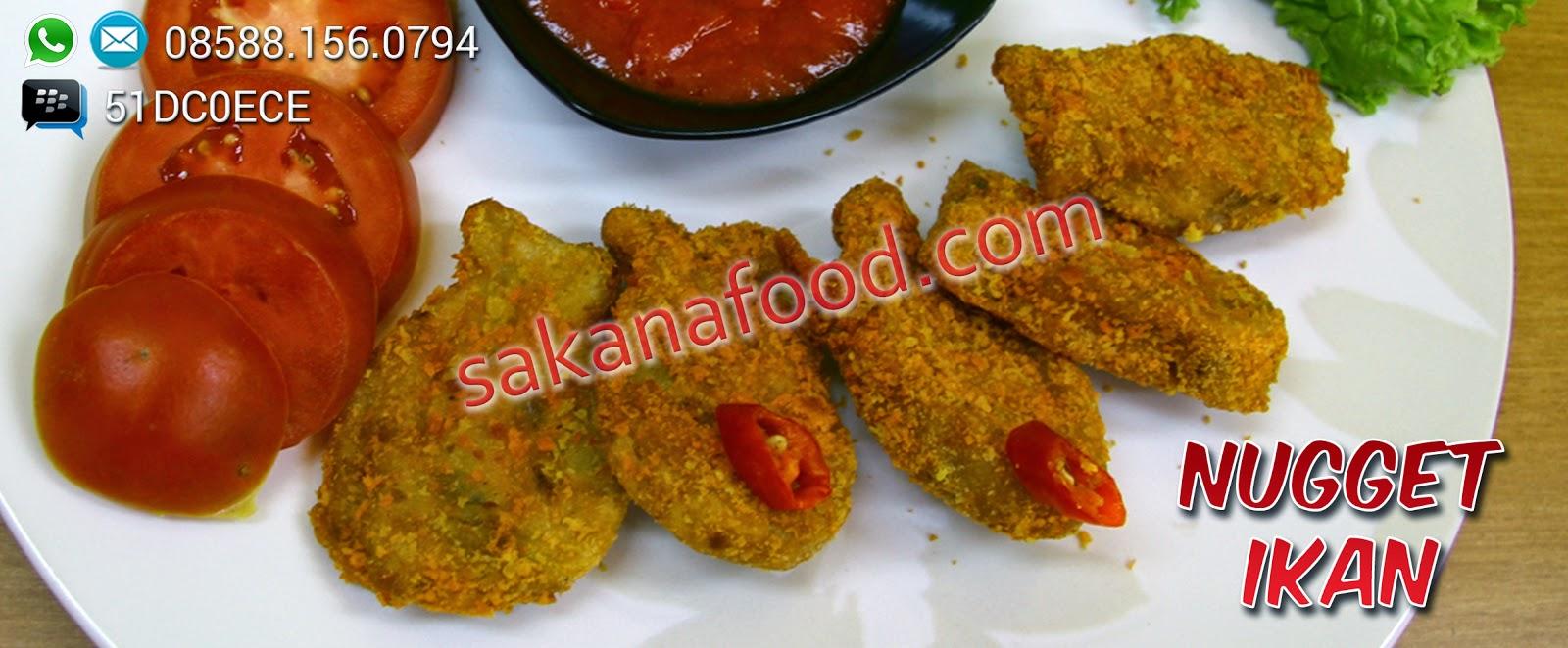 Resep Nugget Ikan Sakana