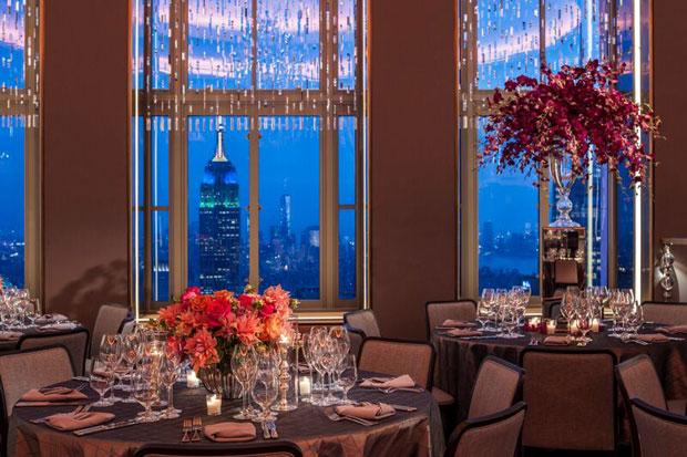 restaurantes mas romanticos de Nueva York rainbow room