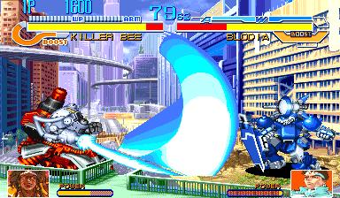 Cyberbots Full Metal Madness+arcade+portable+robots+fighters+videojuego descargar gratis