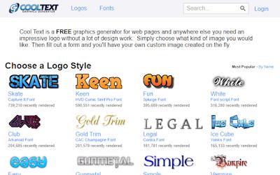 garap blog - Cara Mengganti Header Blog Menggunakan Gambar Cooltext