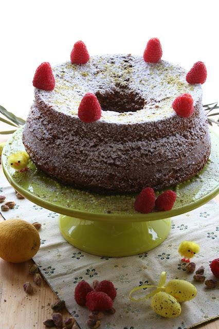 chiffon cake-pistacchi-lamponi-limoni-fluffosa