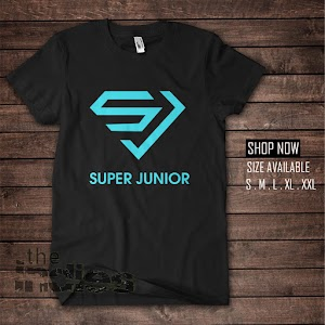 KAOS KPOP SUPER JUNIOR VERSI SUPERMAN (KK378)