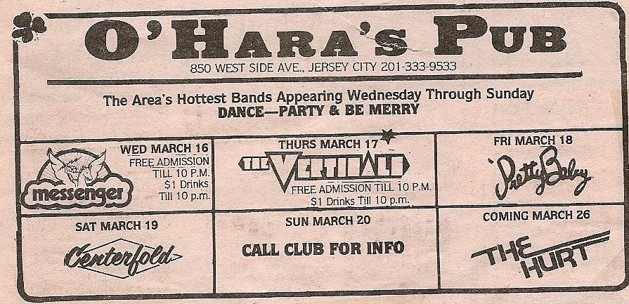 O'Hara's Pub band line up