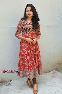 Telugu Actress Nikhila Vimal Latest Stills in Anarkali Dress  0188.JPG