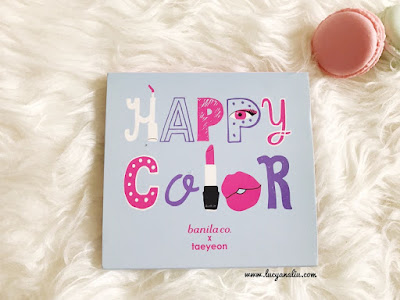 Banila co. & Taeyeon Happy Collection Color Kit (Special Edition) review