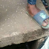 Sad: Dead body of newborn baby found dumped in drainage [graphic photos]