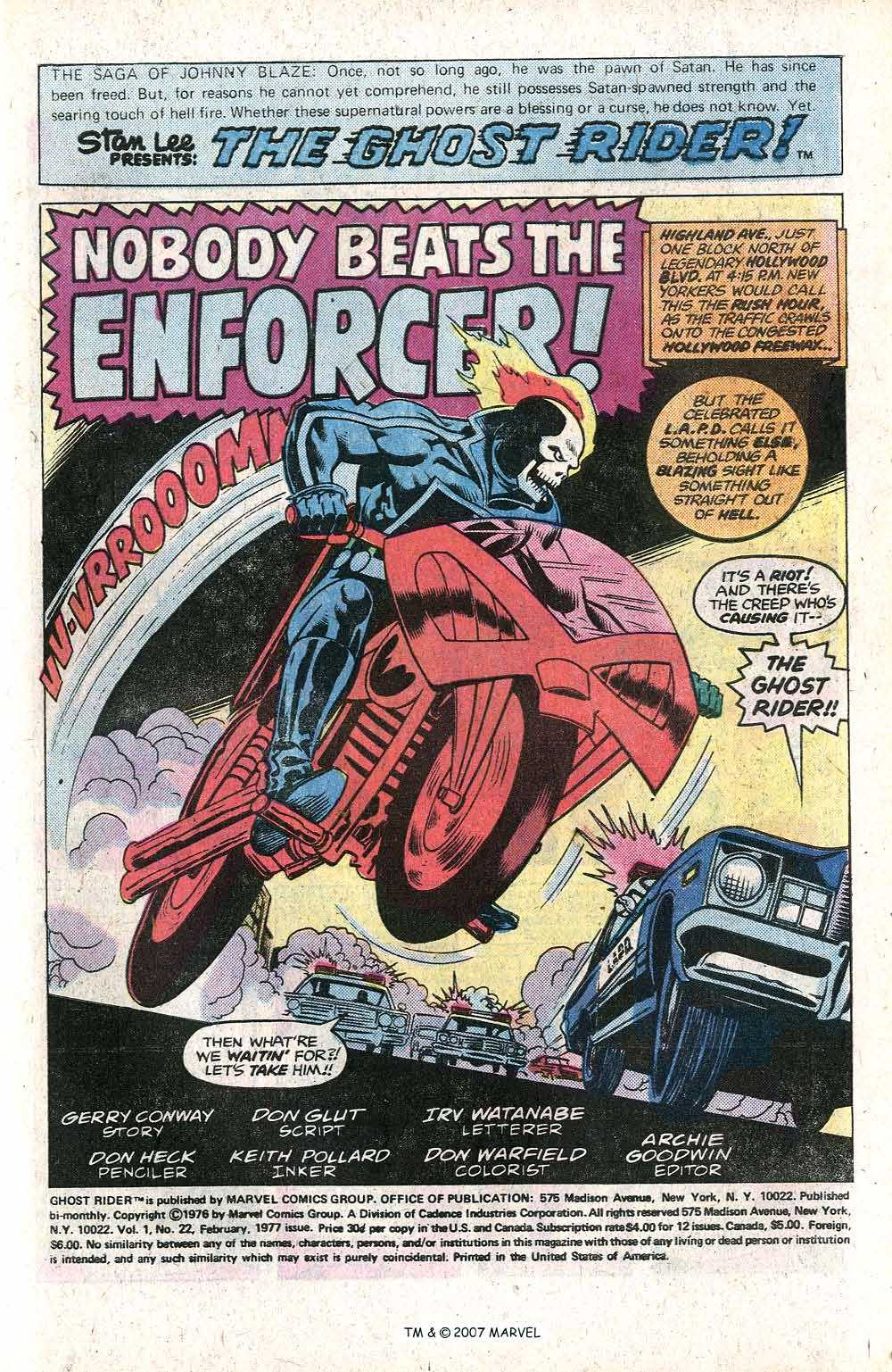 Ghost Rider (1973) Issue #22 #22 - English 3