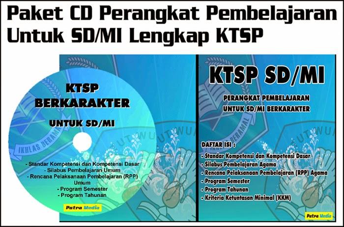 Paket CD Perangkat Pembelajaran SD/MI Lengkap