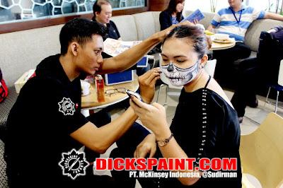 Face painting Horror Jakarta Indonesia