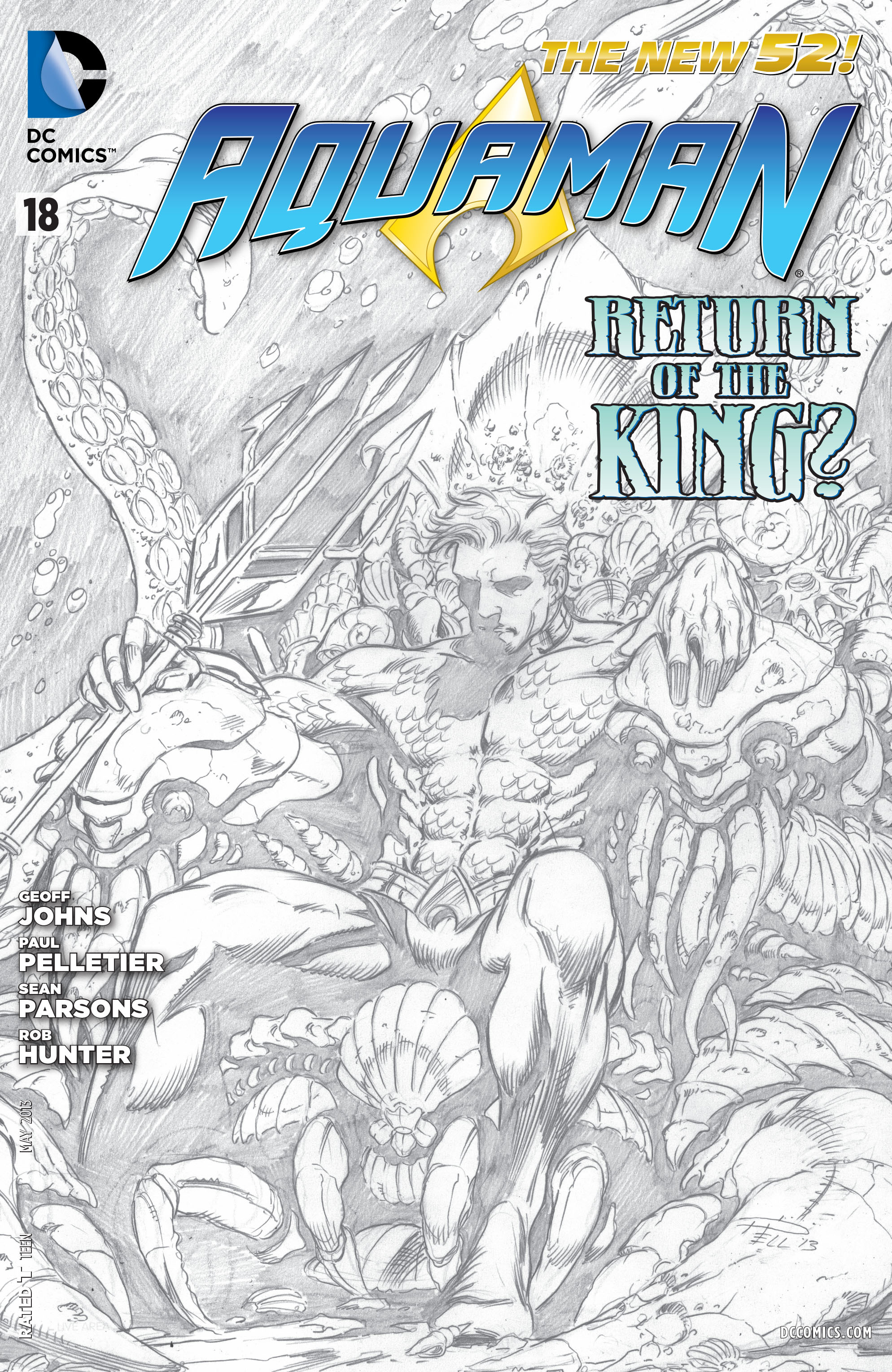Read online Aquaman (2011) comic -  Issue #18 - 21