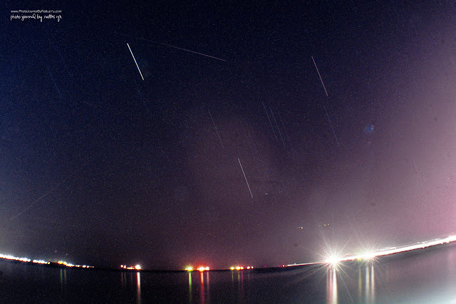April 7, 2016: First Ever Attempt at Star Trails, Manila Bay