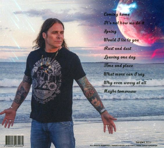 MIKE TRAMP - Maybe Tomorrow (2017) back