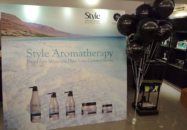 >>烏黑光澤護髮日常*以色列 Style Aroma 死海鹽防脫髮系列