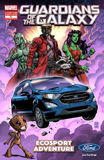 The All-New EcoSport Teams Up with the Guardians of the Galaxy