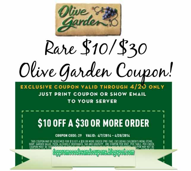 Free Promo Codes And Coupons 2020 Olive Garden Coupons