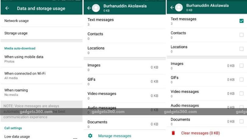 WhatsApp, Android Cihazlara 'Depolama Alanı Kullanımı' Özelliği Getiriyor.