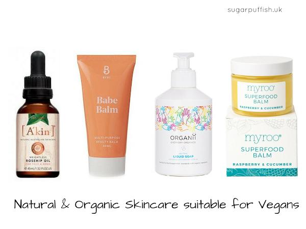 Veganuary: Natural Skincare suitable for Vegans