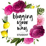 I am a student at Blogging your way