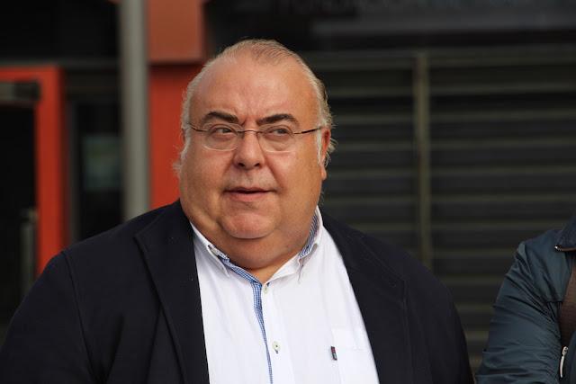 Tontxu Rodríguez durante la campaña de las autonómicas de 2016