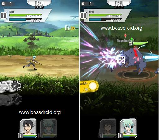 Download Sword Art Online Memory Defrag Mod V1.72 APK Terbaru