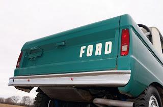 1967 Ford Bronco Half Cab Rear