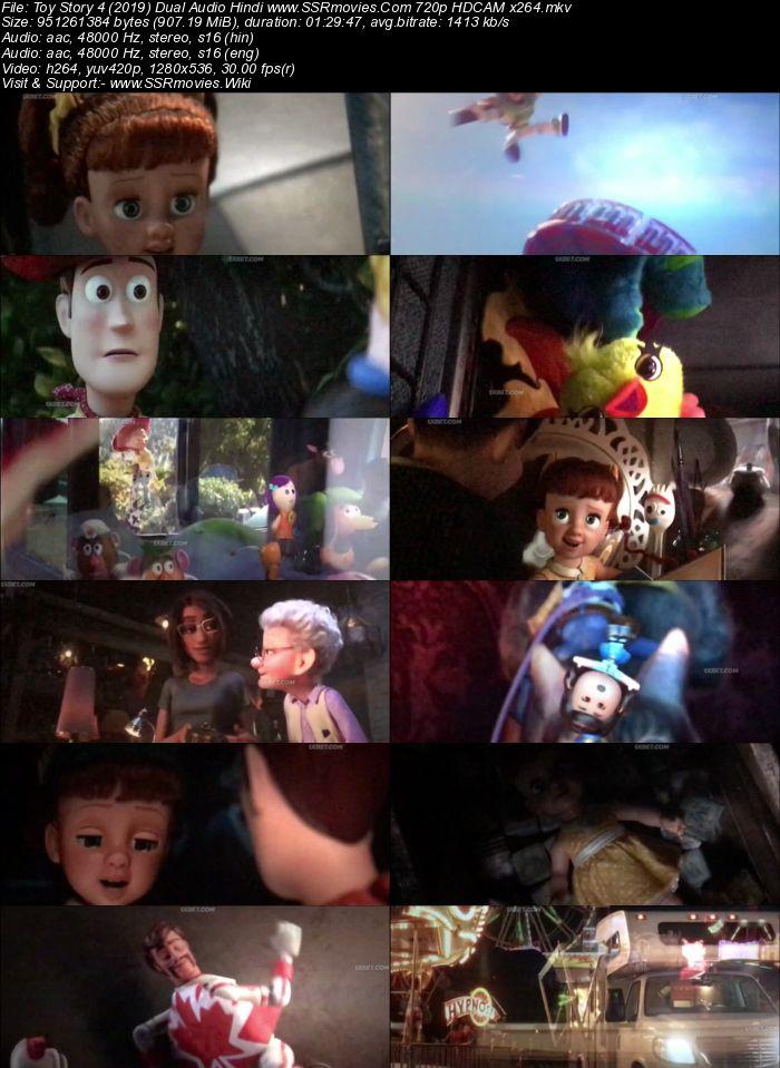 Toy Story 4 2019 Dual Audio Hindi 480p Hdcam X264 300mb