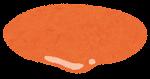 ハンバーガーの具材のイラスト(オーロラソース)