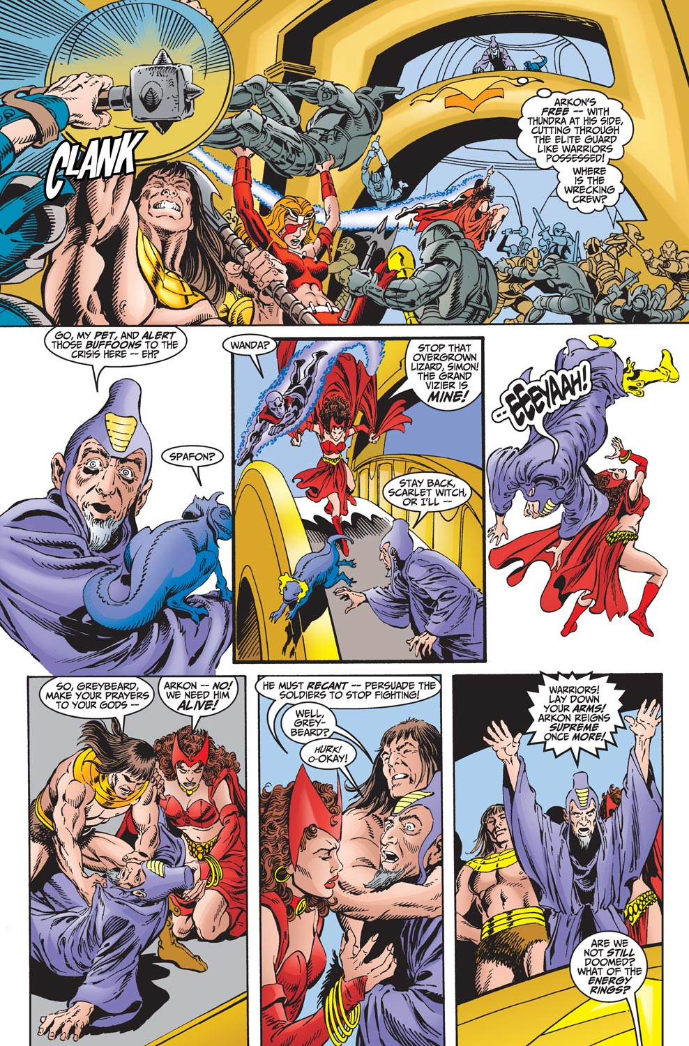 Read online Avengers (1998) comic -  Issue #18 - 14