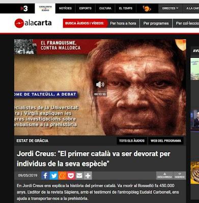 Los catalanes ya nos devorábamos entre nosotros hace 450.000 años