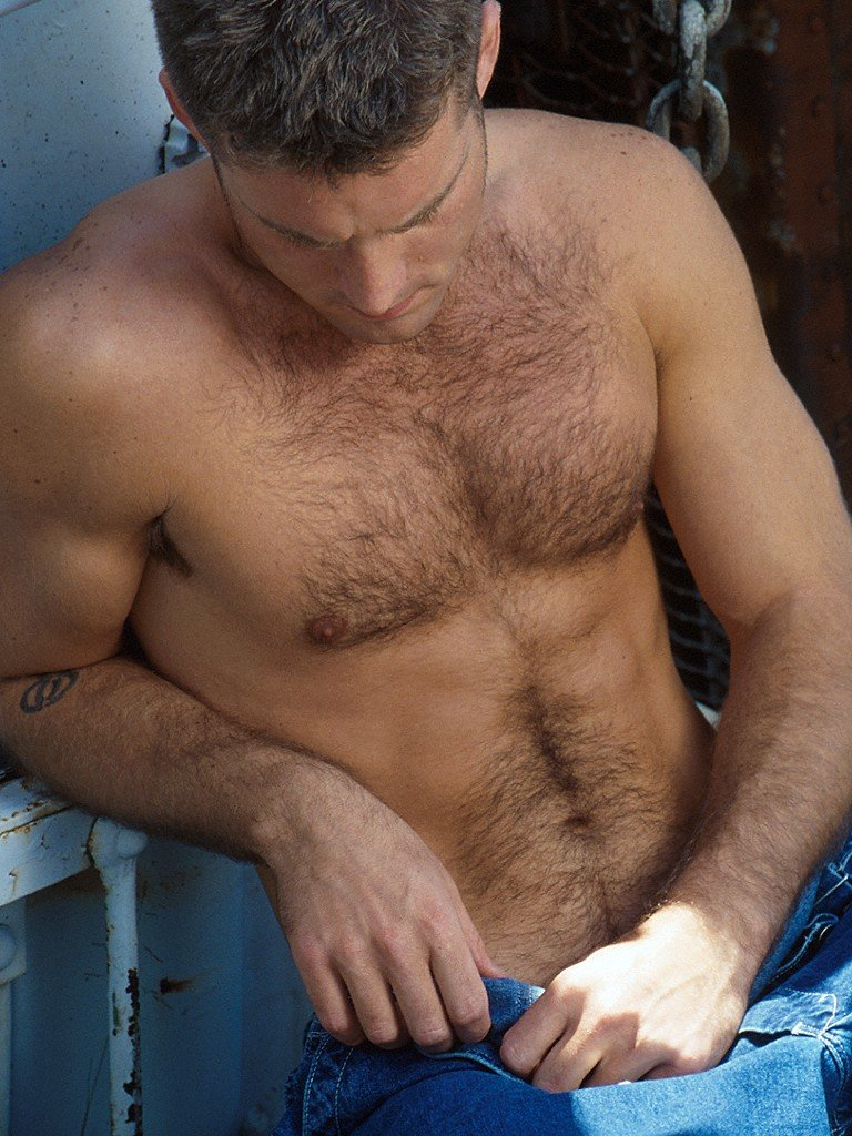 very Men bodies with hairy