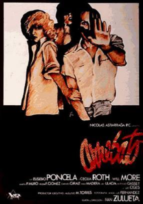 Portada de la película Arrebato, dirigida por Ivan Zulueta