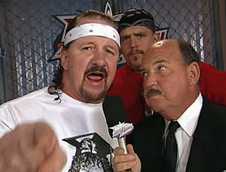 WCW Superbrawl 2000 -  Terry Funk with Dustin 'Fat Daddy' Rhodes