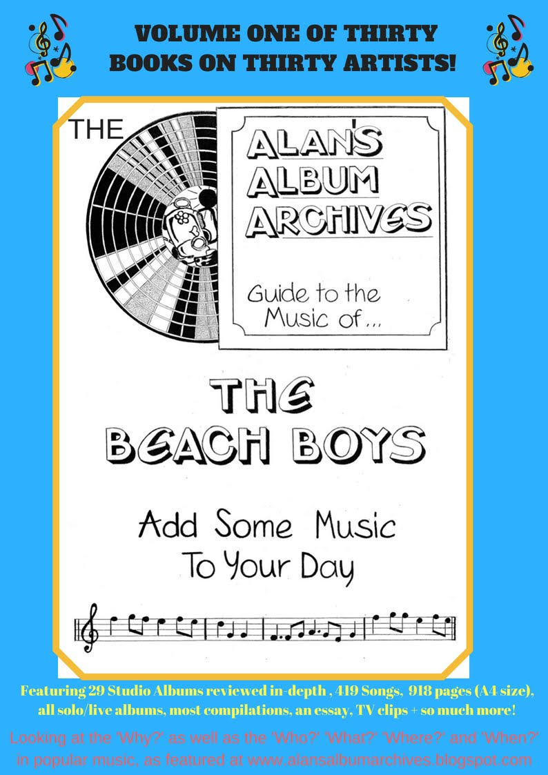 'Add Some Music To Your Day' The Alan's Album Archives Guide To The Beach Boys Is Available Now!