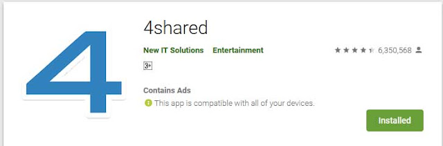 https://play.google.com/store/apps/details?id=com.forshared