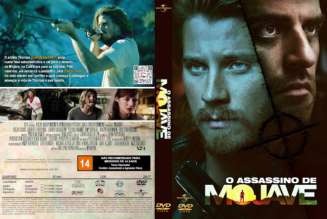 Capa DVD O Assassino de Mojave [Exclusiva]
