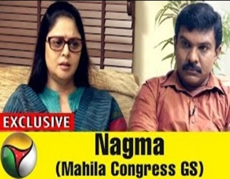 Exclusive 10-05-2017 Interview with Nagma (Mahila Congress General Secy)
