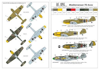 Bf 109E Set #3 - Mediterranean Aces picture 3
