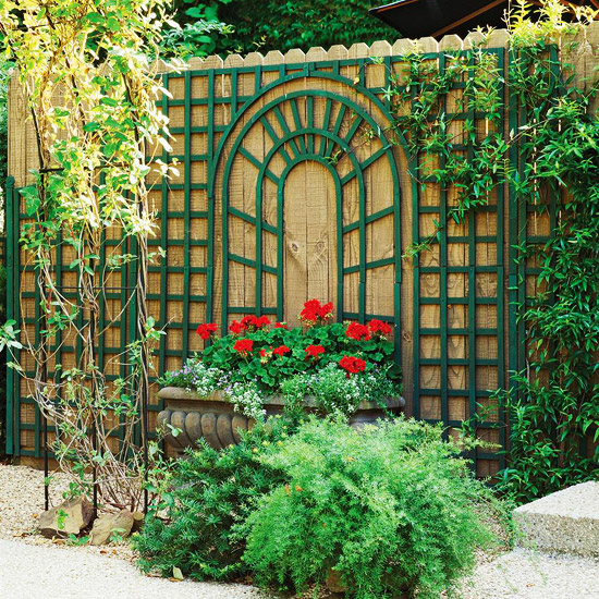 Trellis Design Ideas: Wall
