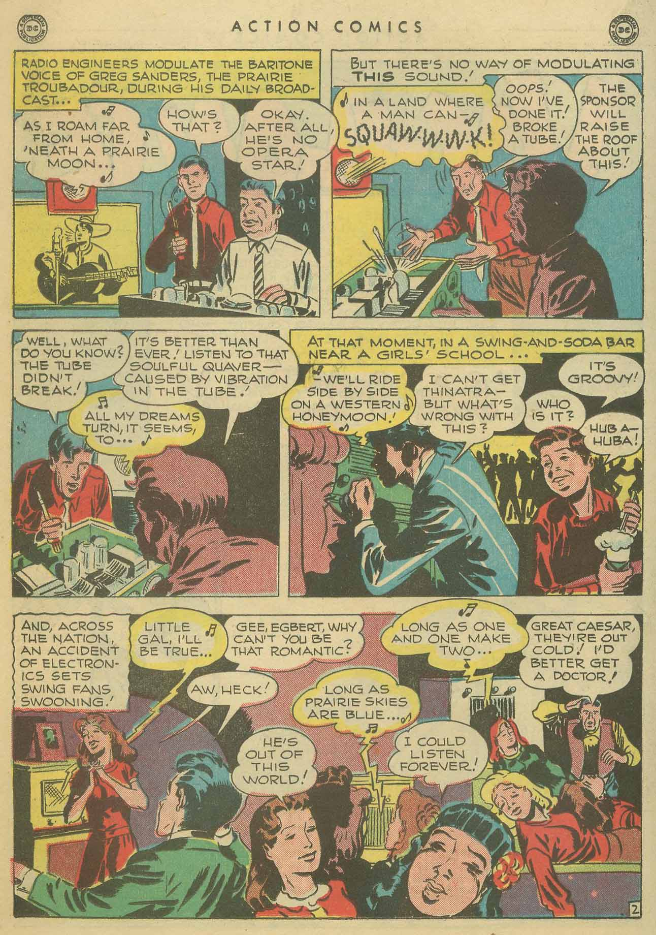 Read online Action Comics (1938) comic -  Issue #102 - 31