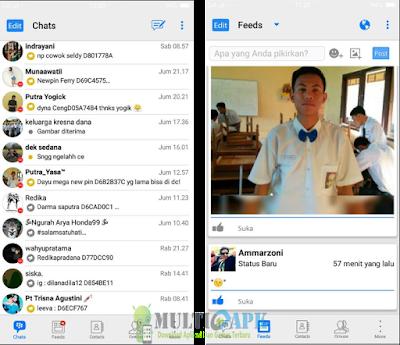 Download BBM Mod B-IOS v3.3.2.31 Terbaru Apk