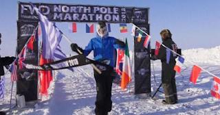 Έλληνας βγήκε πρώτος στον παγκόσμιο μαραθώνιο του Βορείου Πόλου
