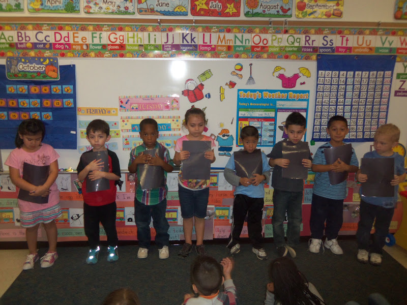 Kinder Garden: Mrs. Wood's Kindergarten Class: Ordinal Numbers