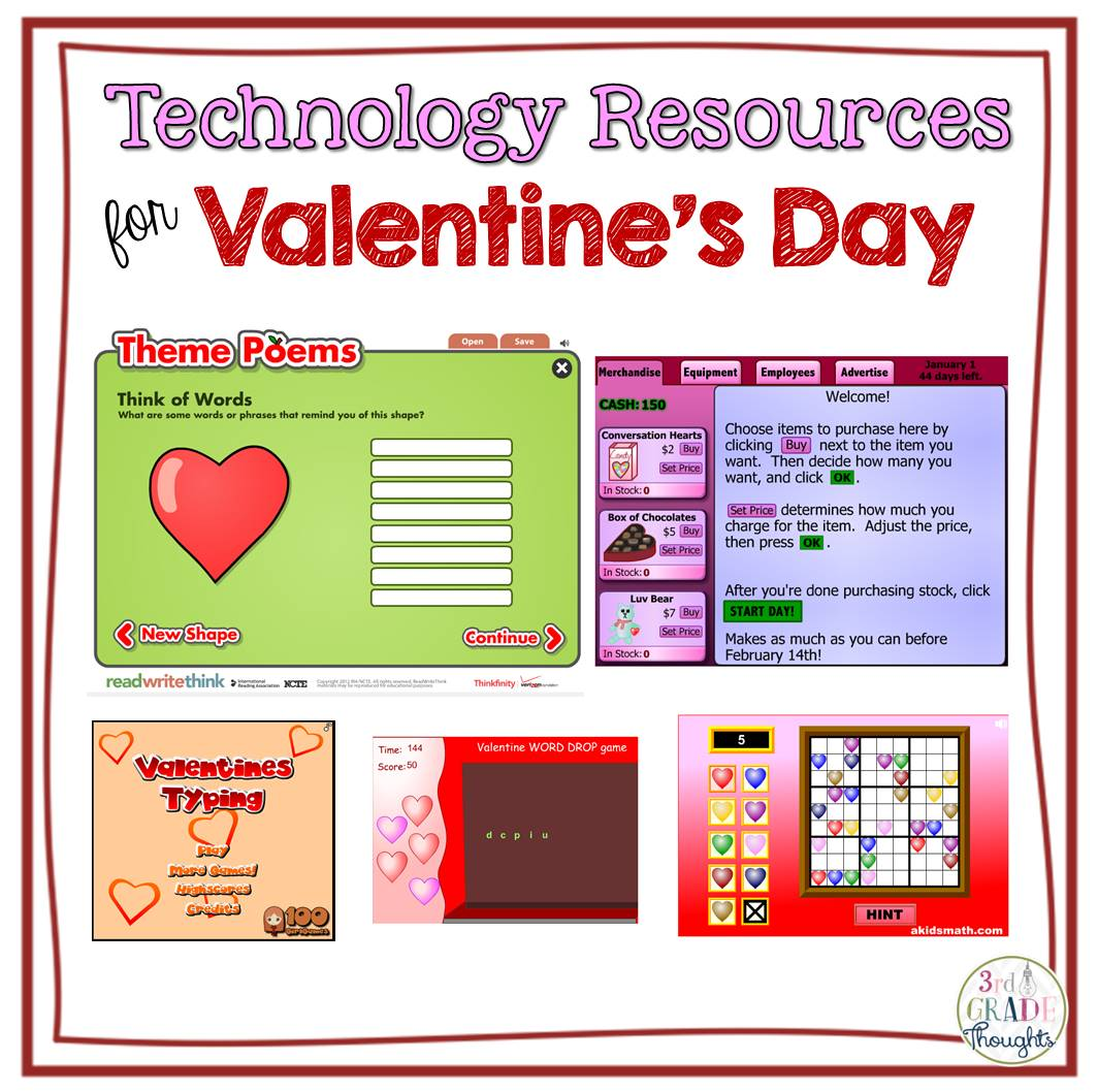 Technology Resources For Valentine S Day