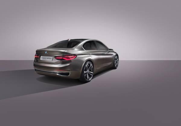 P90204806 lowRes BMW Concept Compact sedan ή μήπως σειρά 1 sedan; BMW, BMW Concept