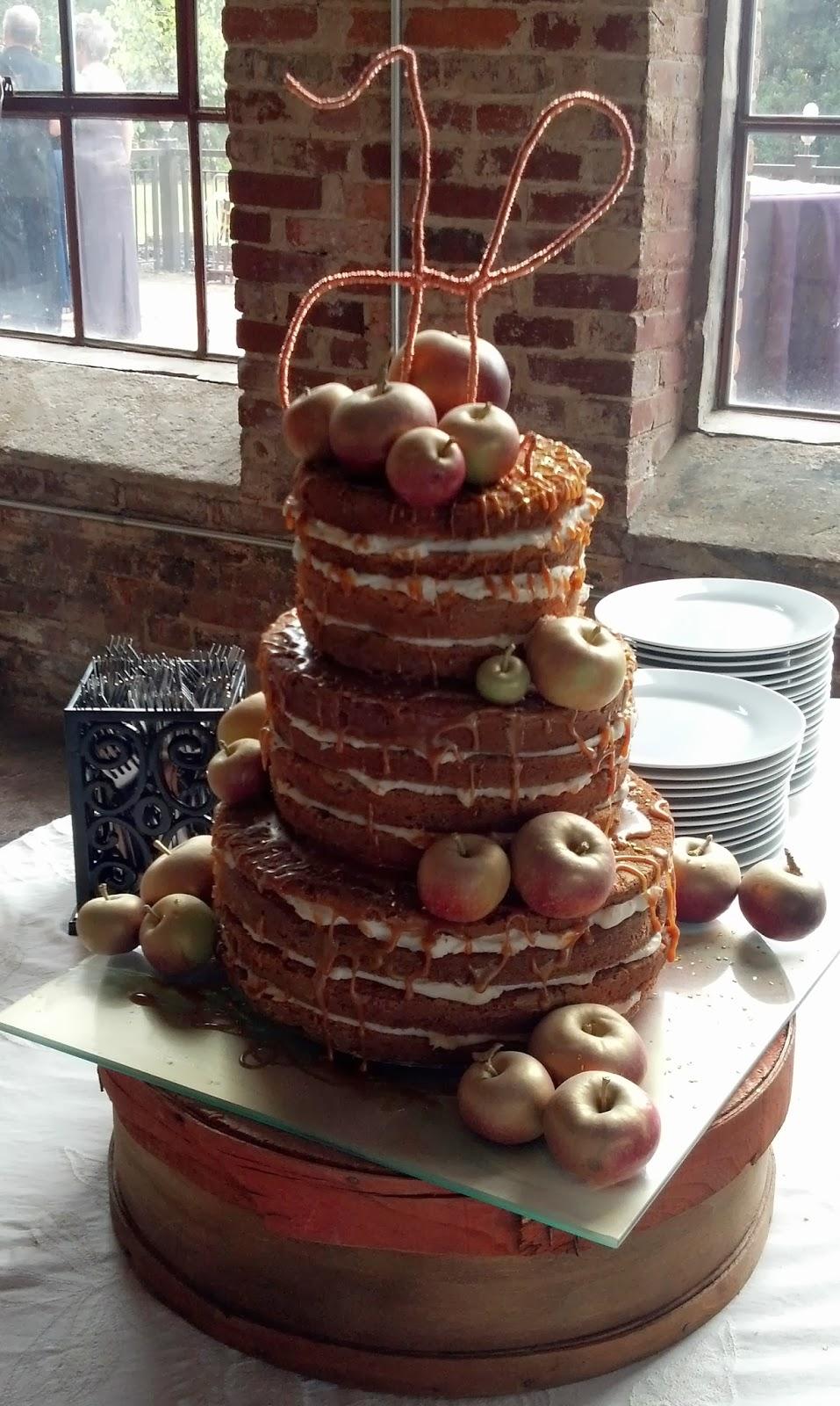 Sugar Amp Spice Sweets Caramel Apple Wedding Cake